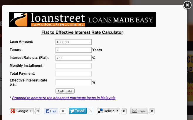 Interest rate loan payment calculator